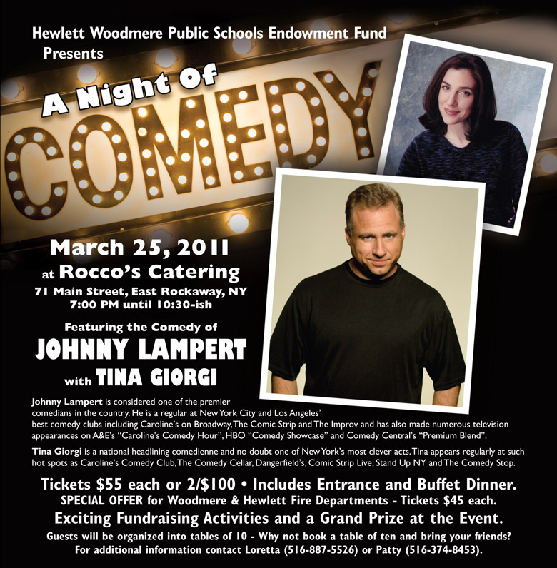 HWPSEF Night of Comedy