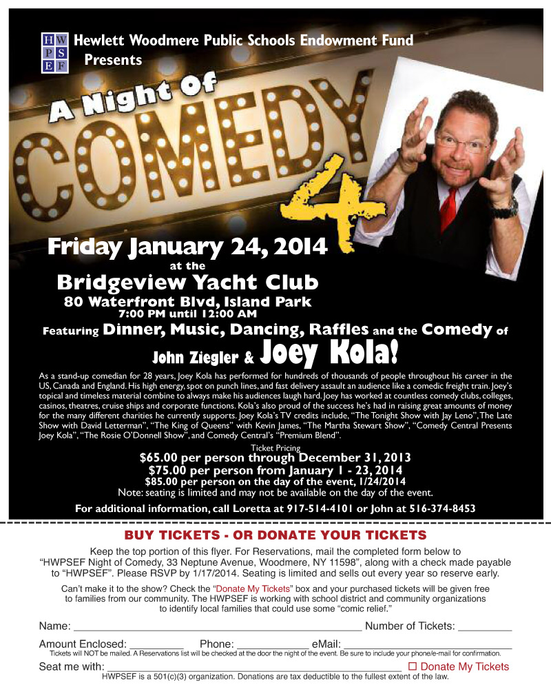 A Night of Comedy 4