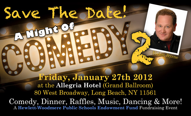 Comedy Night 2 - Save The Date